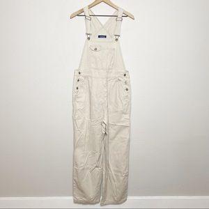 [Honors] Vintage Beige Khaki Twill Bib Overalls